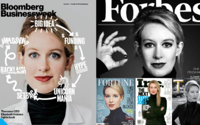 Elizabeth Holmes – From a Communications Perspective