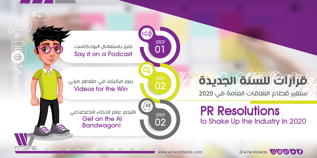 Our PR Resolutions to Shake Up the Industry in 2020