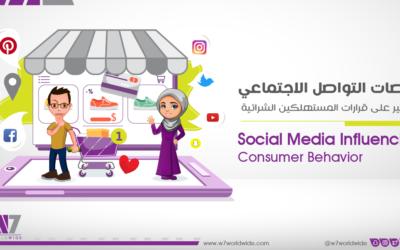 منصات التواصل الاجتماعي والتأثير على قرارات المستهلكين الشرائية