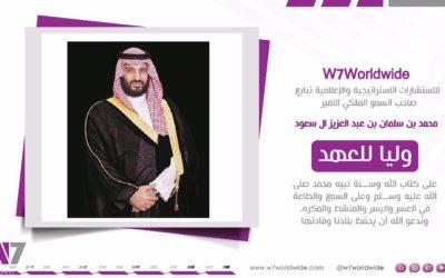 Pledging Allegiance to Crown Prince Mohammed bin Salman Al Saud