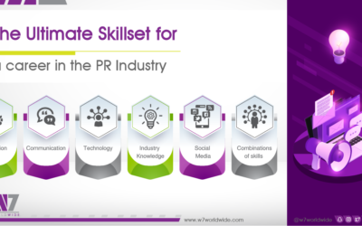 The Ultimate Skillset for Career in the PR Industry