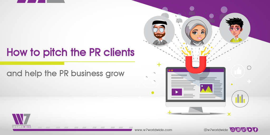 How to pitch the PR clients and help the PR business grow