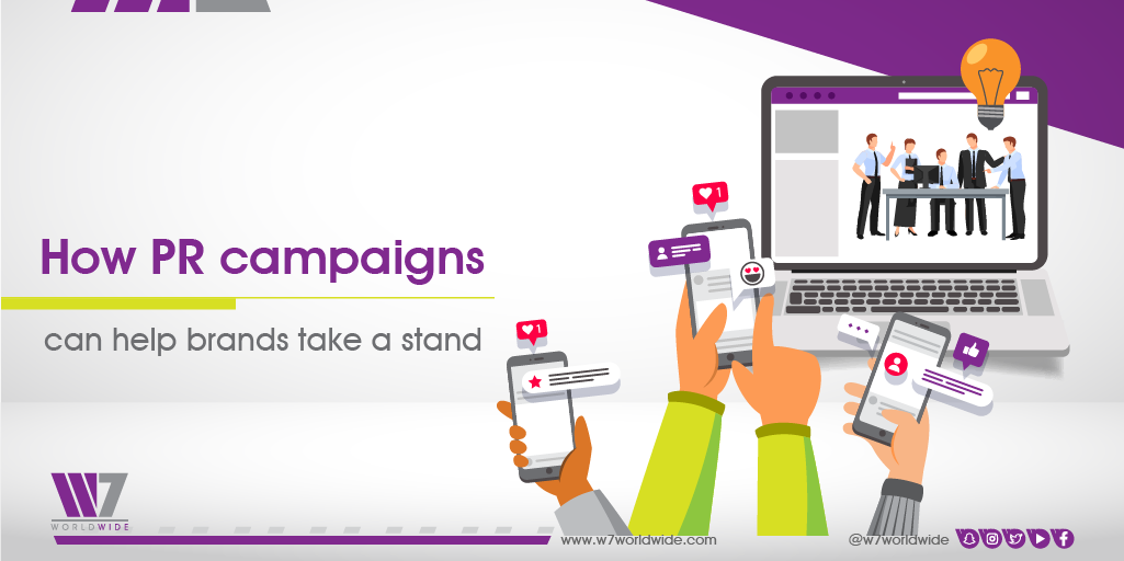 How PR campaigns can help brands take a stand