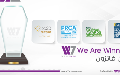 W7Worldwide Becomes GCC Region's Leading Independent Communications Agency with Record Number of Industry Awards