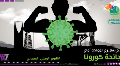 W7Worldwide observes the 91st Saudi National Day with a motion graphics clip